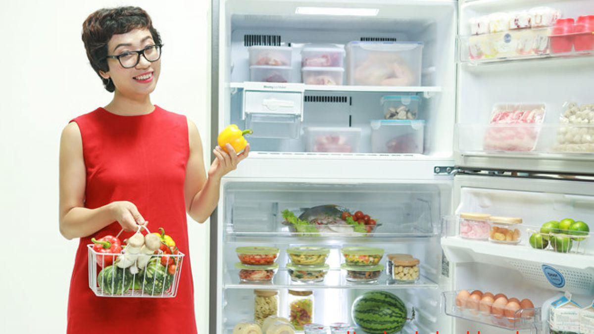 Sắp xếp hợp lý giúp là cách bảo quản thực phẩm tươi lâu