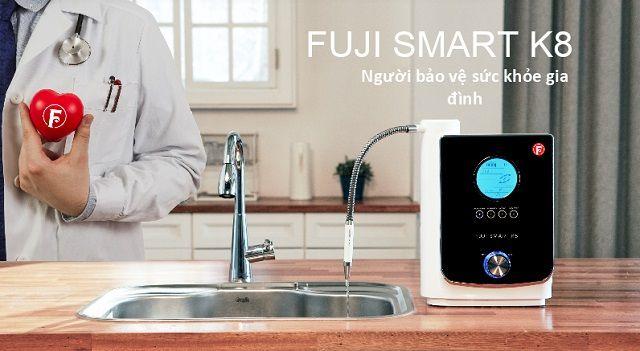 Máy lọc nước ion kiềm Fuji Smart K8 giá bao nhiêu?
