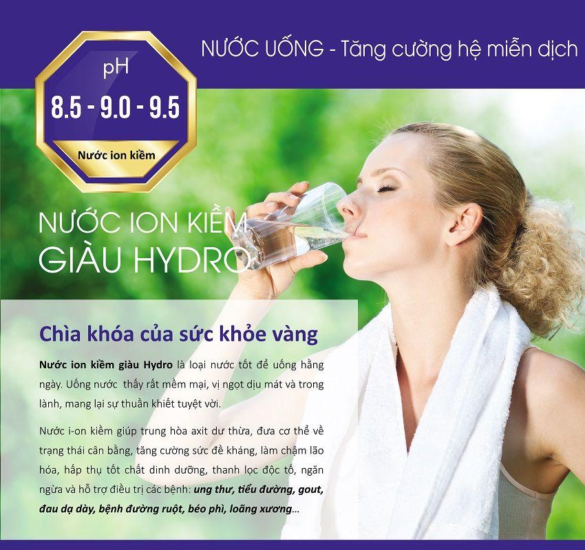 Uống nước ion kiềm có tốt không?