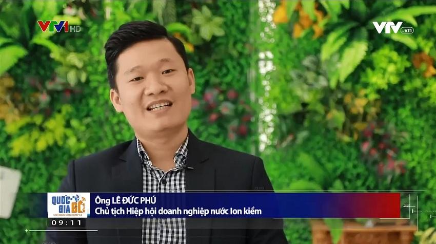Ông Lê Đức Phú – Chủ tịch Hiệp hội doanh nghiệp nước ion kiềm Việt Nam cho biết số lượng cũng như chất lượng tấm lá điện cực sẽ quyết định đến chất lượng nguồn nước đầu ra