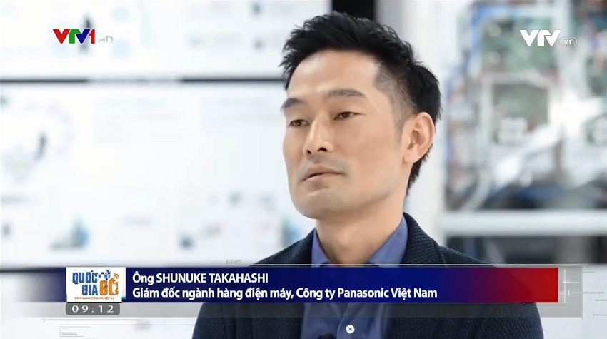 Ông Shunuke Takahashi – Giám đốc ngành hàng điện máy, Công ty Panasonic Việt Nam cho biết sản phẩm trước khi sản xuất hàng loạt phải trải qua quá trình kiểm tra nghiêm ngặt để đảm bảo sức khỏe cho con người