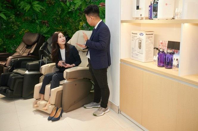 Trung tâm trải nghiệm ra mắt ghế massage Fujiiryoki