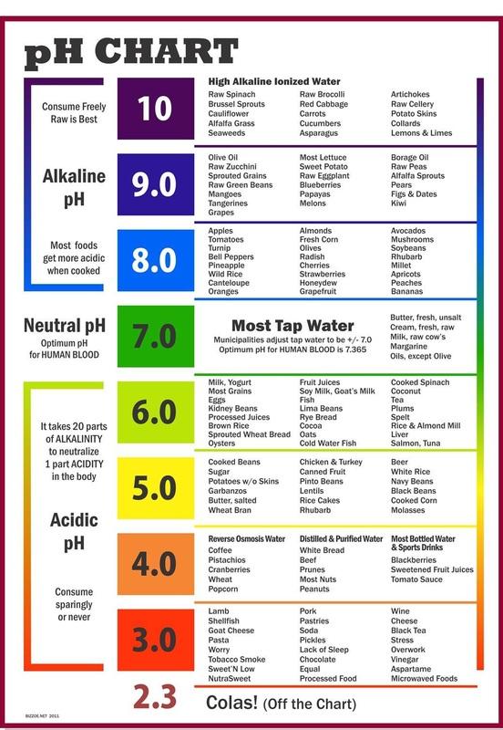 độ Ph alkaline