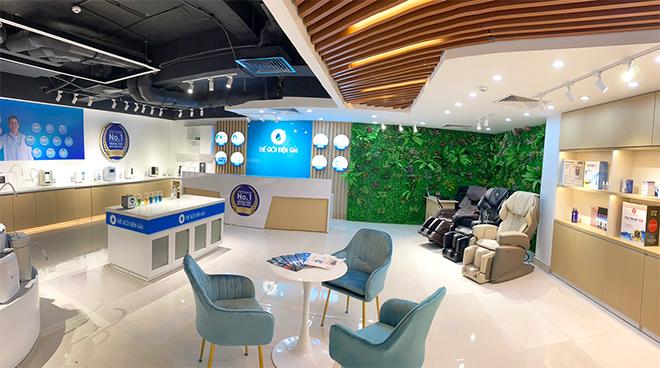 Ngoài máy lọc nước ion kiềm, trung tâm trải nghiệm còn ra mắt Ghế massage chuẩn thiết bị y tế Nhật Bản