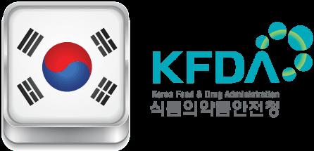 Bộ Thực Phẩm và Dược Phẩm Hàn Quốc cũng đã phê duyệt