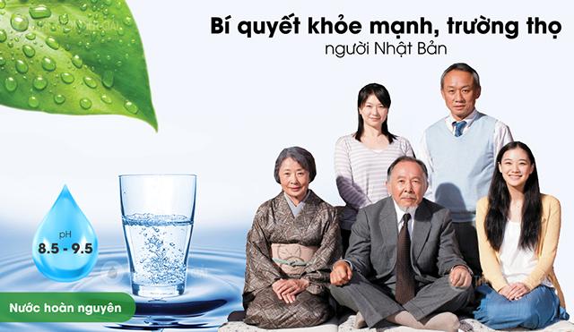 """Nước uống """"hoàn nguyên"""" Nhật Bản"""