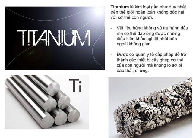 Tấm điện cực của máy lọc nước ion kiềm phải được làm từ Titan phủ Platinum để đảm bảo an toàn và đạt chuẩn Y tế