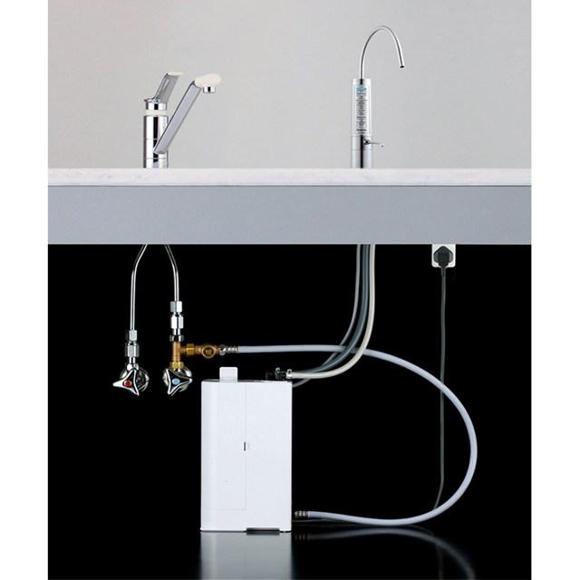Thiết kế cách tân nhờ phân chia vòi nước và buồng điện phân của máy lọc nước ion kiềm Panasonic