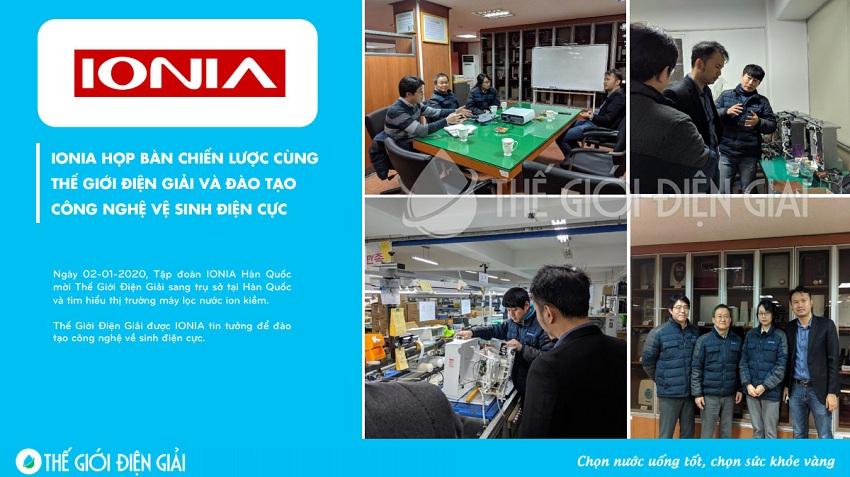 Đội ngũ kỹ thuật Thế Giới Điện Giải được đào tạo chuyên môn thường xuyên về máy lọc nước ion kiềm kangen