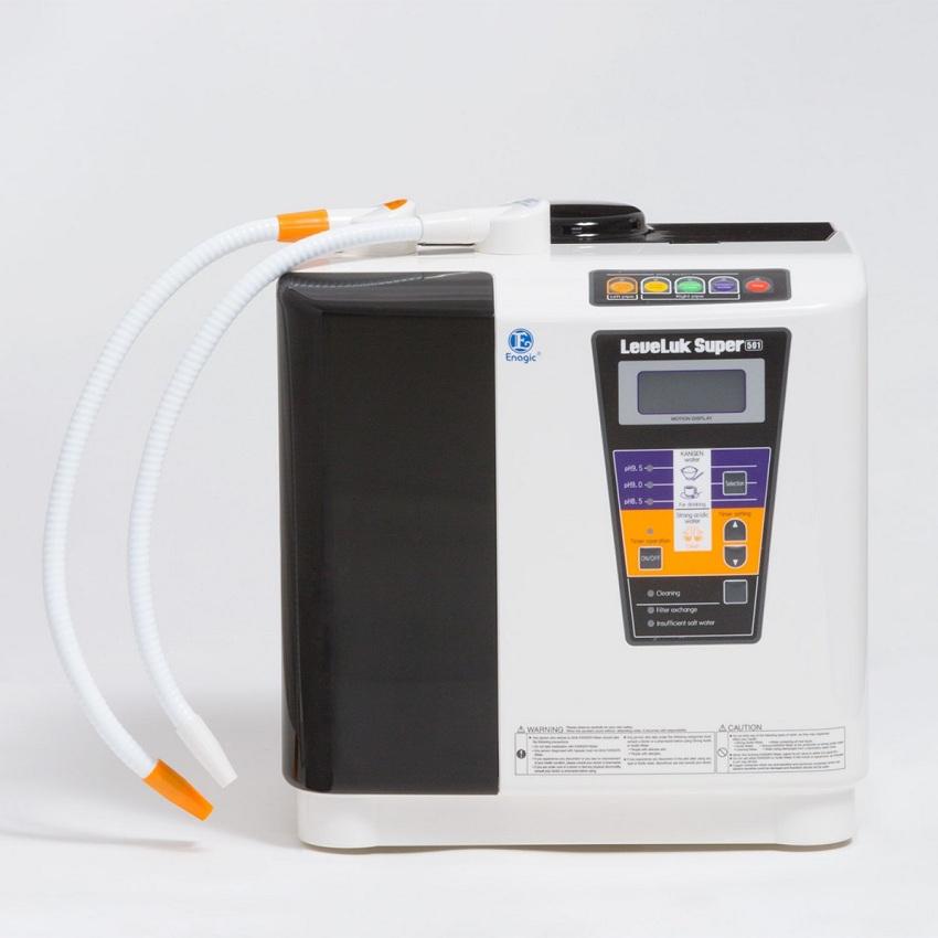 Máy lọc nước ion kiềm kangen chuyên dụng cho phòng khám, bệnh viện, trường học, văn phòng đông người. Công suất (SUPER) sử dụng liên tục, nhu cầu cao về nước axit/kiềm mạnh.