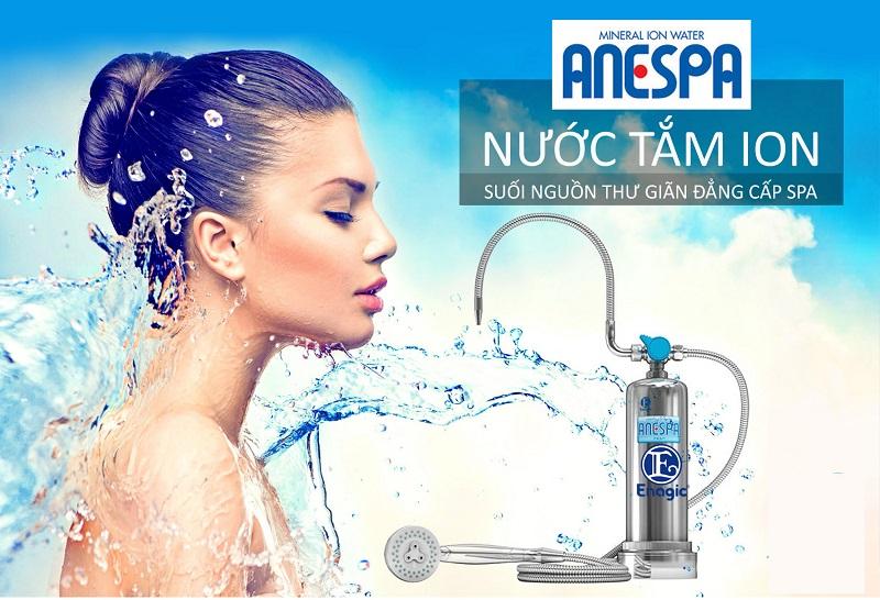 Máy lọc nước ion kiềm kangen phù hợp để tắm, chăm sóc - làm đẹp toàn thân và thư giãn như tại Spa chuyên nghiệp