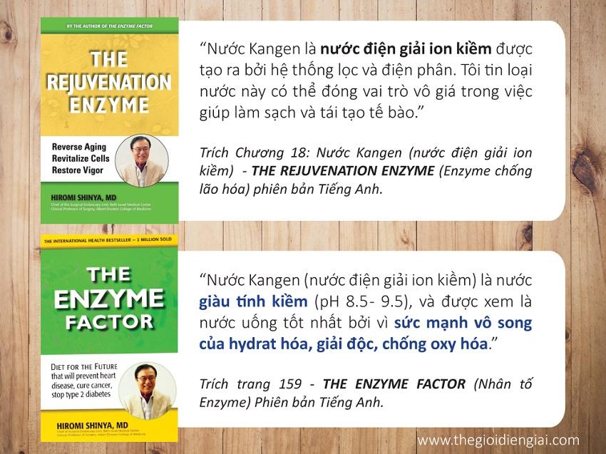Nước Hydrogen là gì? Lợi ích của nước ion kiềm được bác sĩ Hiromi Shinya công nhận trong cuốn sách The Enzyme Factor