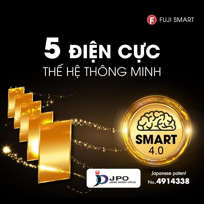 5 tấm điện cực thông minh SMART 4.0 giúp máy có hiệu suất vượt trội hơn hẳn từ chiếc máy lọc nước chính hãng loại tốt nhất