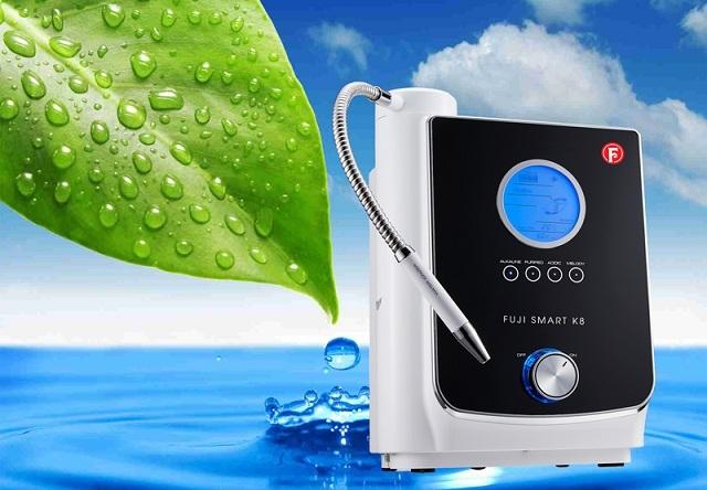 Fuji Smart K8 – Chiếc máy điện giải tạo nước ion kiềm hay máy lọc nước loại tốt nhất có thiết kế đẹp nhất từ trước đến nay