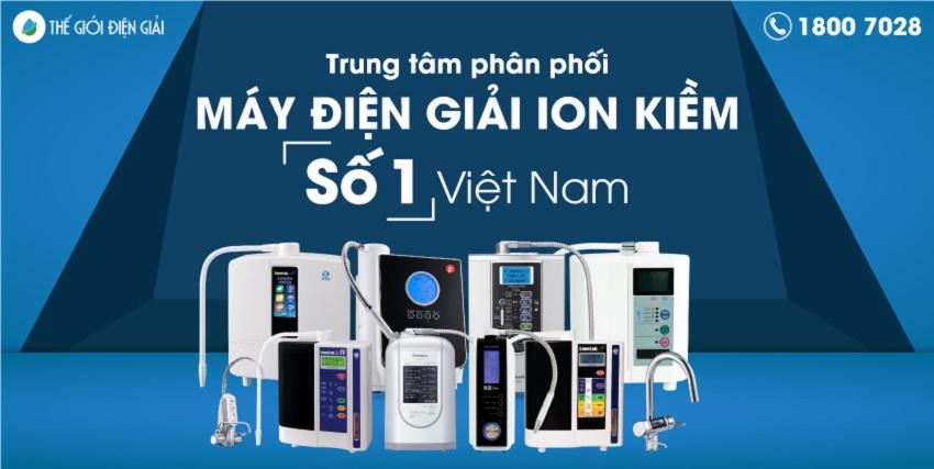 Thế Giới Điện Giải là trung tâm phân phối máy lọc nước ion kiềm hàng đầu Việt Nam