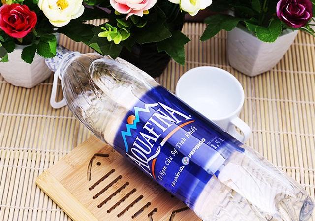 Aquafina là thương hiệu nước suối tinh khiết được nhiều người lựa chọn