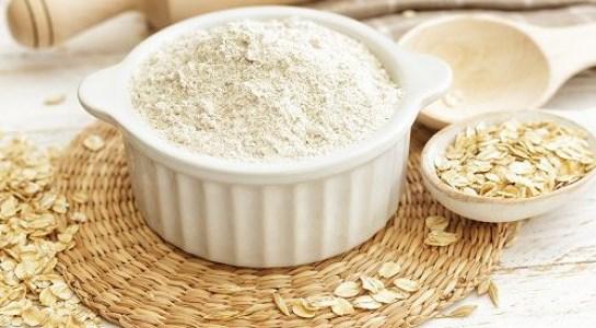 bột yến mạch có nhiều chất xơ