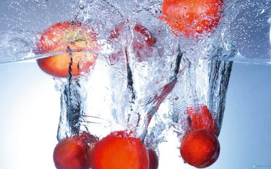 máy rửa rau quả