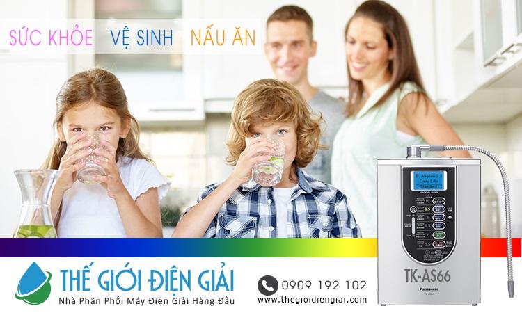 nước điện giải cho sức khỏe gia đình