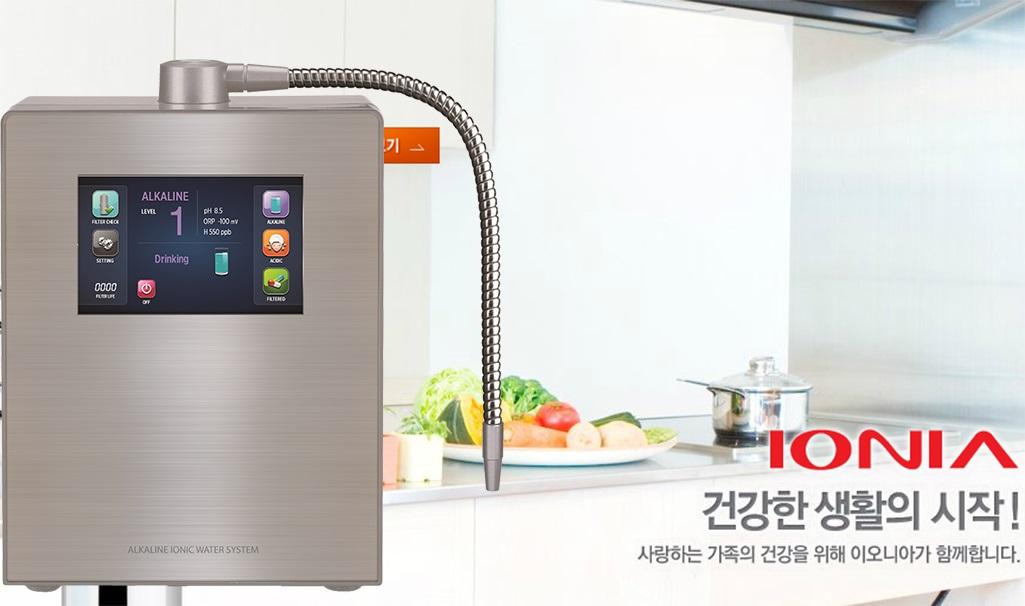 máy tạo nước ion kiềm ionia