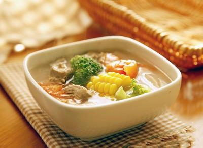 Món súp ngon nhờ nước ion kiềm