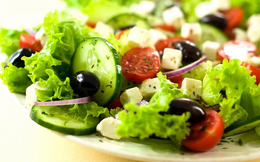 món salad ngon nhờ nước ion kiềm