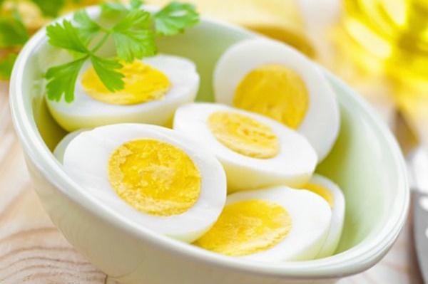 món trứng ngon nhờ nước ion kiềm