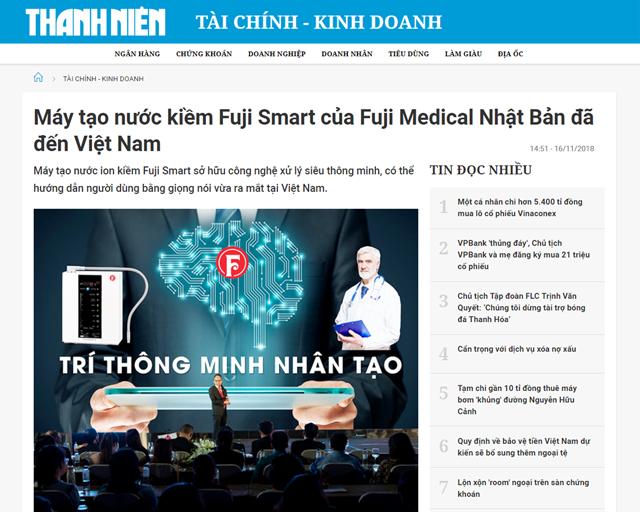 Bài viết được đăng trên mục Tài chính – Kinh doanh của Báo Thanh Niên ngày 16/11/2018