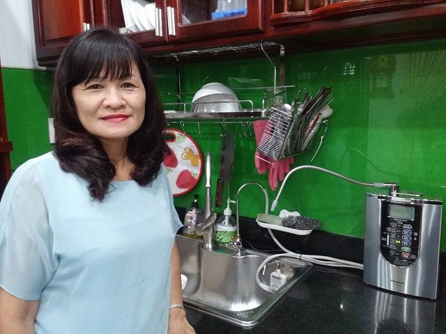 Máy lọc nước ion kiềm Nhật Bản được tin dùng bởi chất lượng và thiết kế hoàn hảo