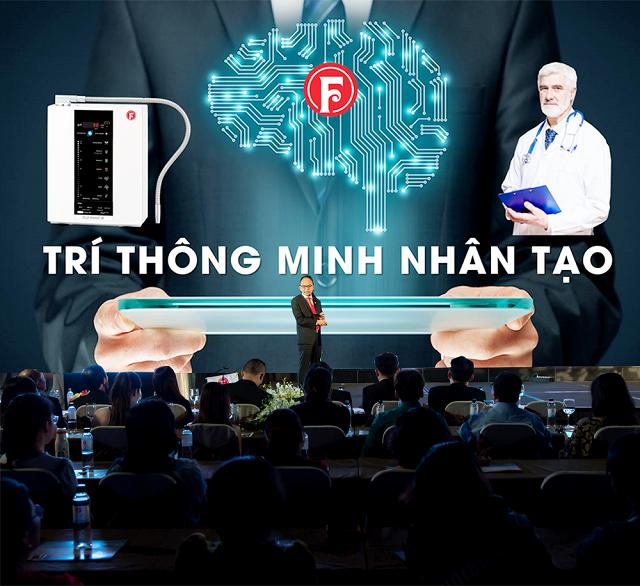 Ông Lê Văn Như Hải - CEO Fuji Việt Nam giới thiệu máy Fuji Smart I8
