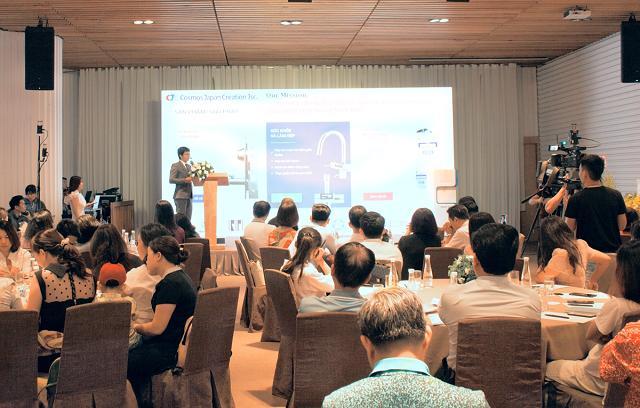 Sự kiện thu hút hơn 200 khách hàng và đối tác quan tâm đến nguồn nước uống tốt cho sức khỏe