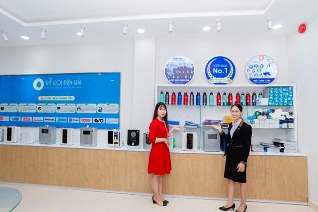 Nơi tập trung máy lọc nước ion kiềm cao cấp, mới nhất từ Panasonic, Mitsubishi, Hitachi, Fuji Medical, Enagic, Trim, OSG, IONIA…