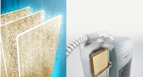 Thế Giới Điện Giải được Panasonic huấn luyện kỹ thuật sửa chữa tấm điện cực