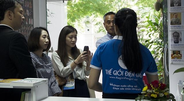Bà Ikeguchi Satsuki, Cố vấn Marketing Panasonic Việt Nam tỏ ra hứng thú