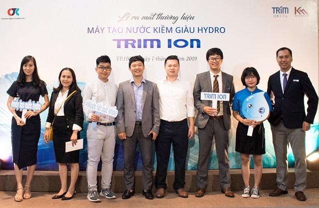 thương hiệu Trim ion từ Nhật Bản cho ra mắt máy lọc nước nước ion kiềm giàu hydro mới nhất Trim ion Grace