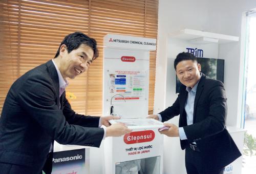 Thế Giới Điện Giải tiếp đón chủ tịch tập đoàn Mitsubishi