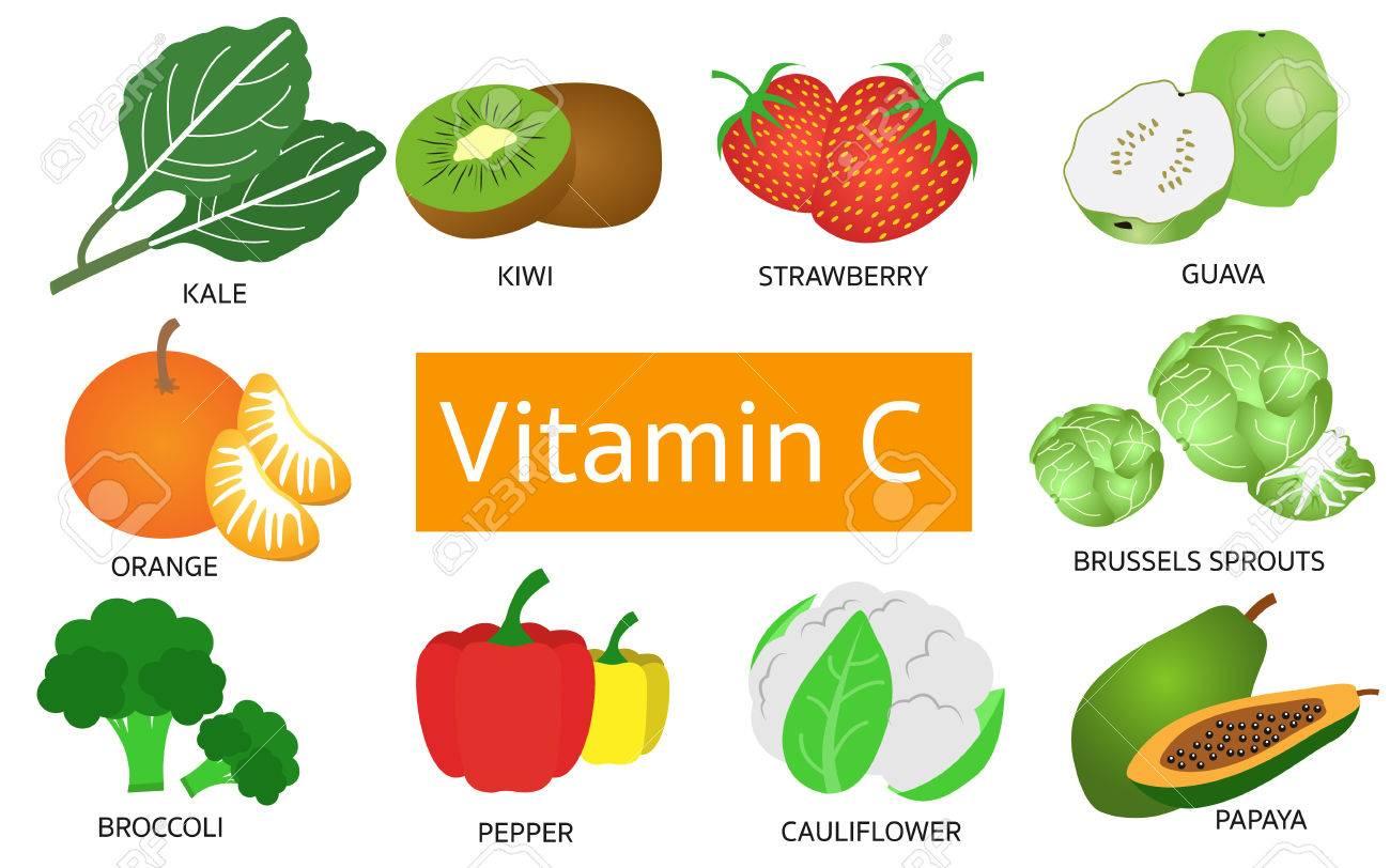 các loại rau củ quả giàu vitamin c