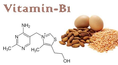 cấu trúc vitamin b