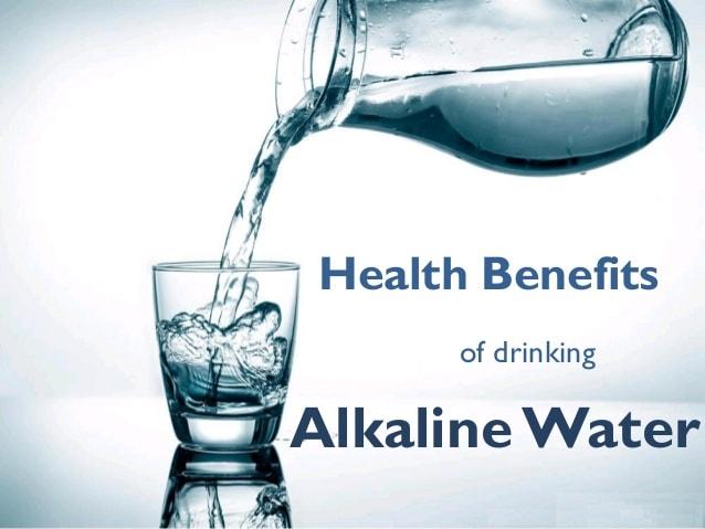 alkaline water có tốt không