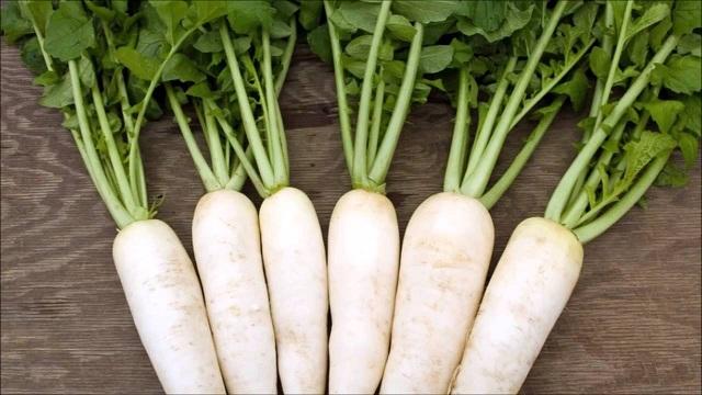 bạch cầu cao nên ăn củ cải