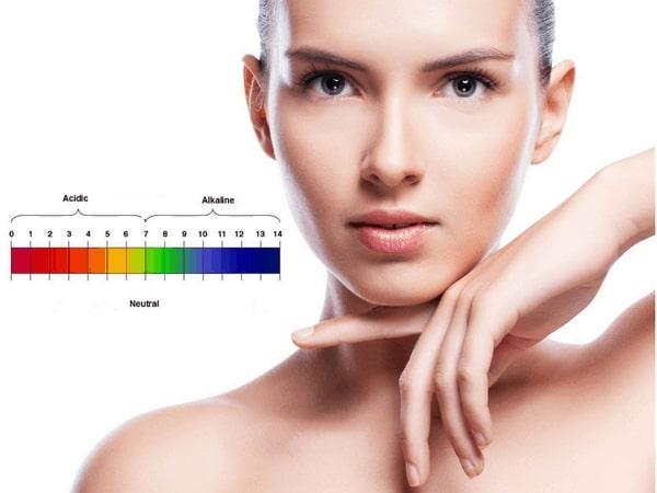 Độ pH ảnh hưởng rất lớn đến làn da của bạn