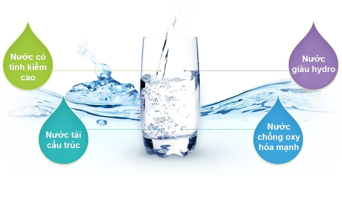Nước ion kiềm có 4 tính chất ưu việt mà các loại nước khác không có được