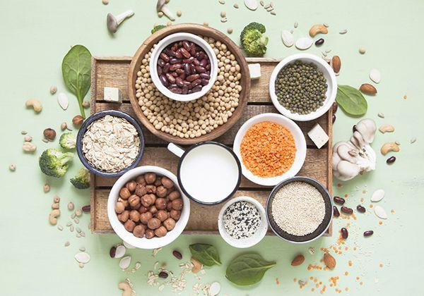 Bổ sung đầy đủ nguồn chất đạm từ thực vật trong chế độ ăn uống