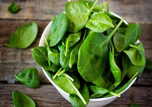 Bina là loại rau giàu chất sắt người ăn chay cần bổ sung thường xuyên