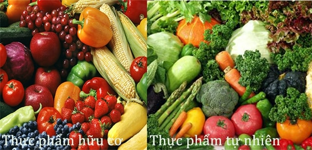 Phân biệt thực phẩm hữu cơ và thực phẩm sạch như thế nào?