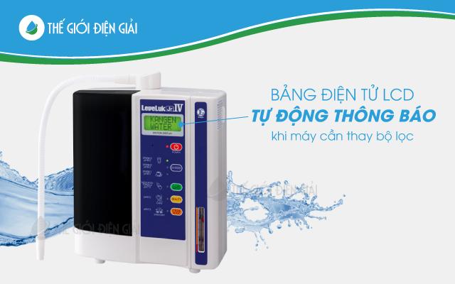 Máy điện giải lọc nước ion kiềm Kangen LeveLuk JRIV