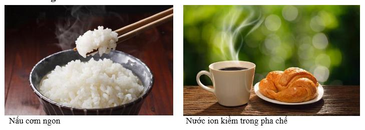 Nước ion kiềm giúp nấu cơm ngon - Nước ion kiềm sử dụng trong pha chế