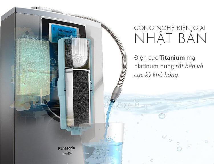Máy lọc nước ion kiềm Panasonic AS TK66