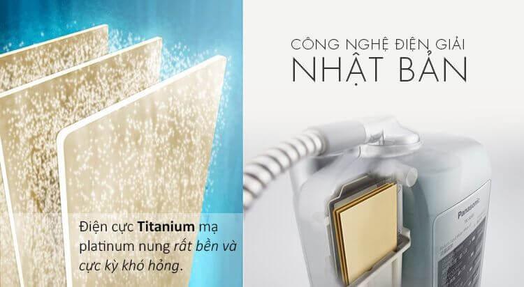 Máy lọc nước ion kiềm Panasonic TK AS45