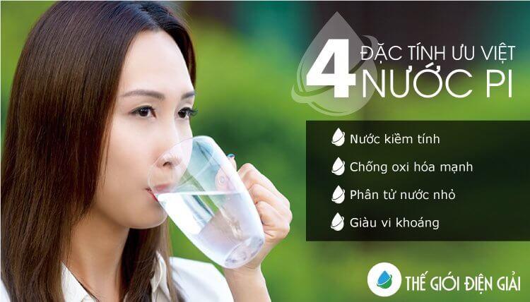 4 đặc tính ưu việt của nước Pi